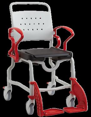 תמונה של כסא רחצה ושירותים BERLIN עם גלגלים