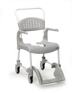 Picture of כסא רחצה ושרותים עם גלגלים דגם clean