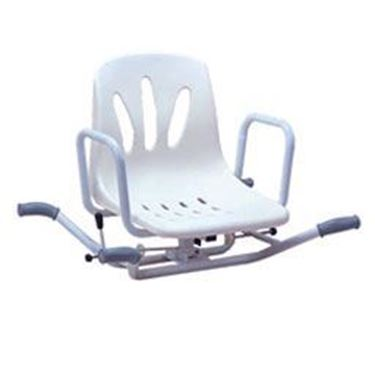 תמונה של כסא רחצה מסתובב 90 מעלות