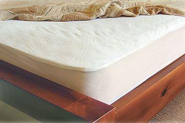 תמונה של מגן מזרון מגבת רכה ושעוונית איכותית