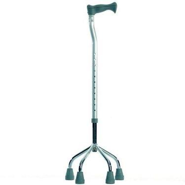 תמונה של מקל הליכה 4 רגליים בסיס רחב וגבוה