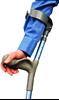 תמונה של קביים קנדיות עם ידיות אנטומיות