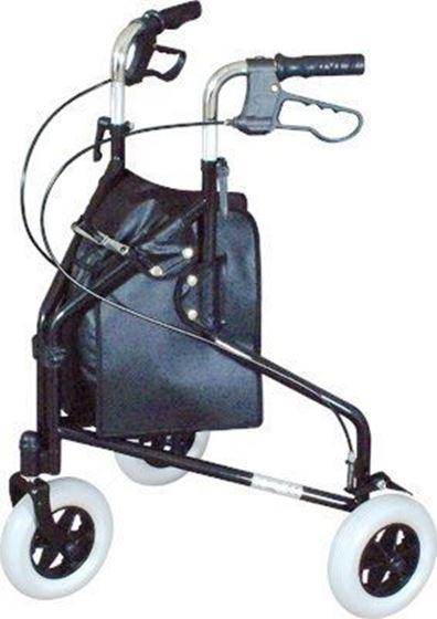 תמונה של רולטור 3 גלגלים מתקפל
