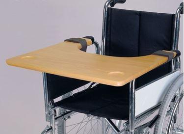 תמונה של שולחן לכסא גלגלים