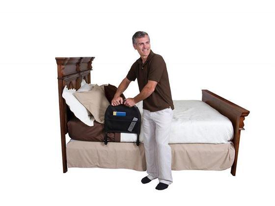 תמונה של מעקה בטיחות למיטה נייד