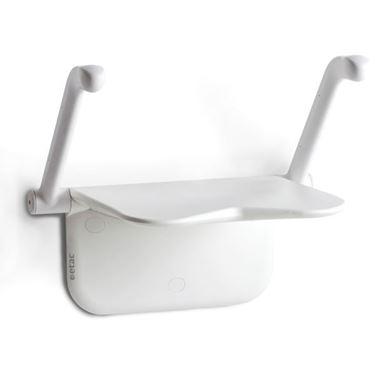 תמונה של כסא רחצה מתקפל לקיר