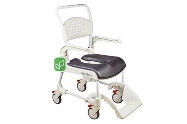 Picture of כסא רחצה ושרותים עם גלגלים דגם clean קלין
