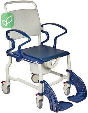 """תמונה של כסא רחצה ושירותים עם גלגלים """"רוטרדם"""""""