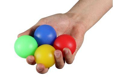 תמונה של כדור סיליקון לחיזוק כף היד