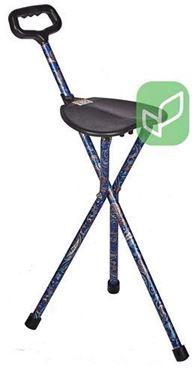 תמונה של מקל כסא קבוע 3 רגליים