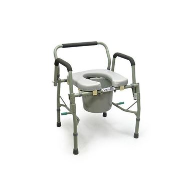 תמונה של כסא שירותים קומוד עם סיר