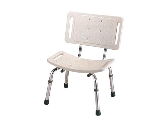 תמונה של כסא רחצה טלסקופי