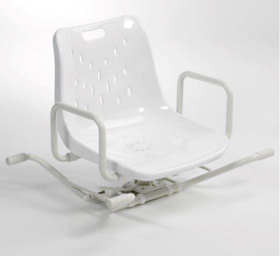 תמונה של כסא רחצה מסתובב 90 מעלות BEN