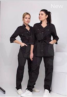 תמונה של בגדי עבודה | ביגוד ייצוגי  ומקצועי | Black S26