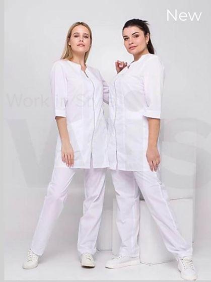 תמונה של בגדי עבודה | ביגוד ייצוגי  ומקצועי | White S21