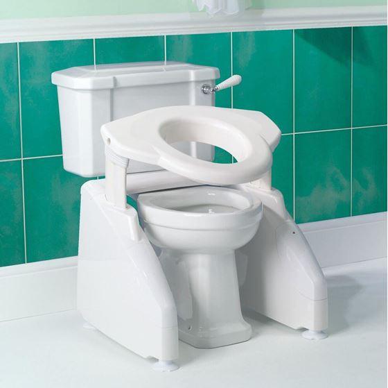 """תמונה של מעלית שירותים הגבהה לאסלה דגם """"סולו"""" חשמלי"""