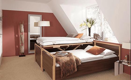 תמונה של מיטה סיעודית זוגית BURMEIER