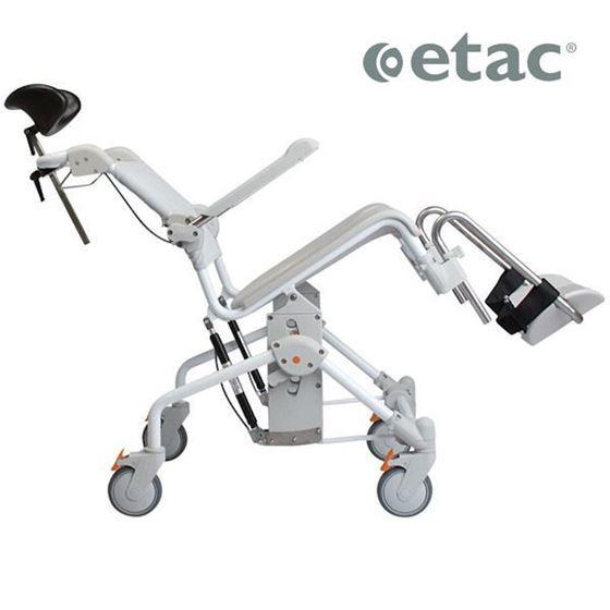 תמונה של כיסא רחצה ושירותים כולל טילט ETAC
