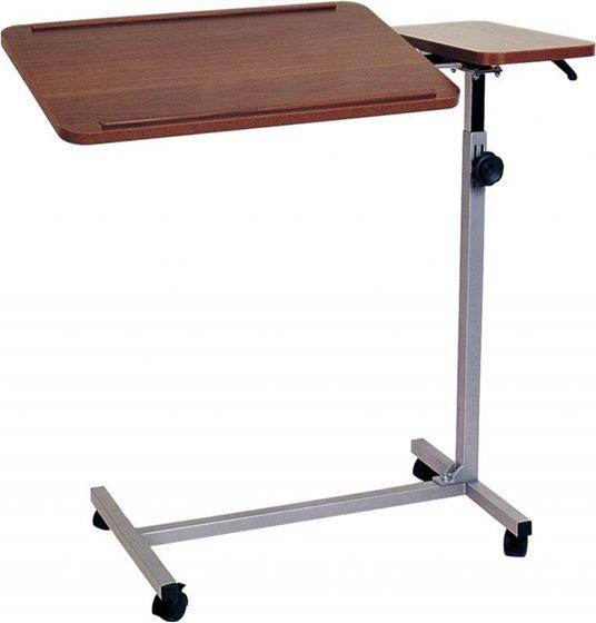 תמונה של שולחן למיטה וכסא גלגלים אחות אילמת