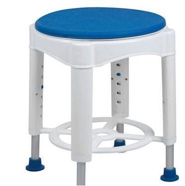 תמונה של כסא רחצה עגול ומסתובב